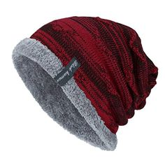 5146cac38ee Black Humor Unisex Winter Knitting Skull Cap Wool Slouchy Beanie Hat     Click image for