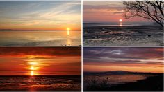 The-Serentity-of-the-Solway-Firth #solway #firth #dumfries #galloway #sunset #beach
