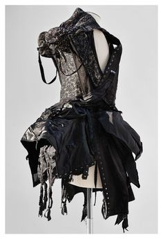 Jun Takahashi Dress made out of vintage lingerie, UNDERCOVER Fall/Winter 2013 Anatomiecouture