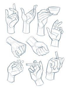 Esboço de mãos