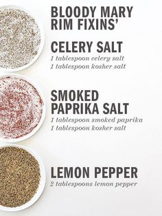 The Best Bloody Mary Recipe and a Build Your Own Bloody Mary Bar – foodiecrush Best Bloody Mary Recipe, Bloody Mary Recipes, Bloody Mary Salt Rim Recipe, Bloody Mary Spice Mix Recipe, Fun Drinks, Yummy Drinks, Yummy Food, Vodka Drinks, Drinks Alcohol
