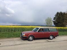 Our Volvo 245 GLE, from 1983 ❤️