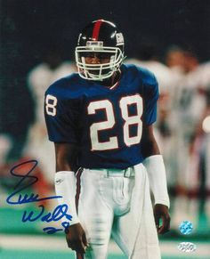 Everson Walls New York Giants Autographed 8x10 Photo -Standing-