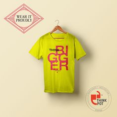 We give you a chance to wear your belief with some of our coolest t-shirt prints! Visit us at: http://bit.ly/1Gnx1P2
