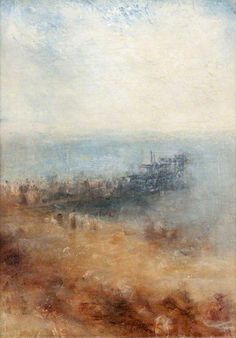 Joseph Mallord William Turner - Margate Jetty