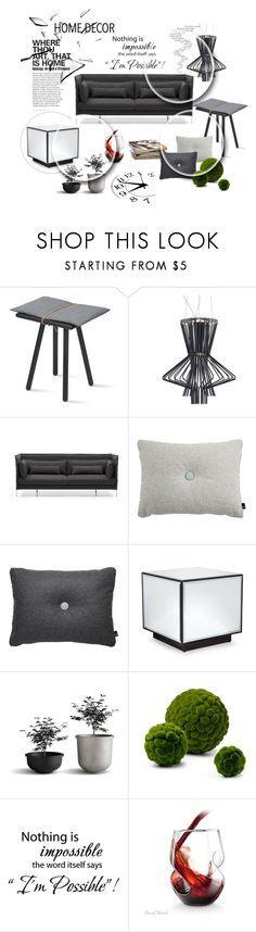 """viva #45"" by bibeviva on Polyvore featuring interior, interiors, interior design, home, home decor, interior decorating, Skagerak, Foscarini and Vitra"