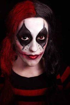 imagenes de maquillaje para halloween mujeres