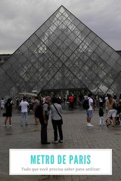Metro de Paris: Dicas, Informações e Horários
