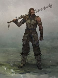 Men in fantasy art