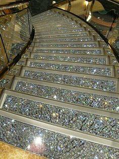 Glitter stairs♥