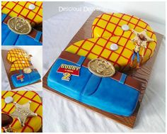 Toy Story Woody cake by Delicious Deliveries
