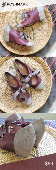 027f7738d051 Jeffrey Campbell  Ynez  leather mary jane wedge Adorable Jeffrey Campbell  Ynez wedges in burgundy
