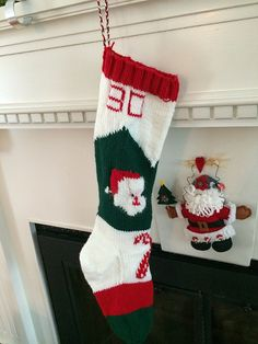 90eb7a76959 Jumbo Santa Claus Stocking pattern by Emile Bernat   Sons Company
