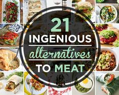 21 Meat Alternatives You Should Be Cooking With