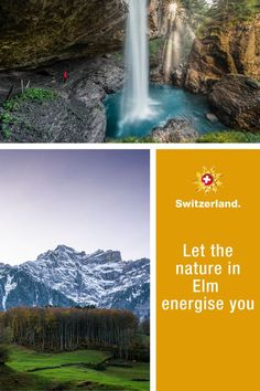 Elm – learn more about Switzerland's hidden gems Switzerland Tourism, Winter Hiking, Holiday Apartments, Travel Information, World Heritage Sites, Hiking Trails, Countryside, Travel Destinations, Scenery