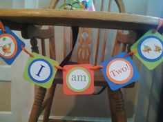 Bubble Guppies High Chair  Banner Birthday  party Decoration Favor supplies. $8.00, via Etsy.