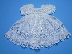 White Christening / Blessing Gown Baby by CherryHillCrochet,