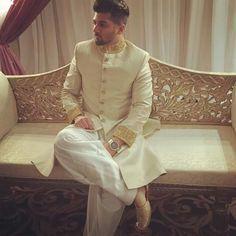 Zauq collection by saima shah Montréal #pakistani #sherwani #indian  Model: Sameer Josh