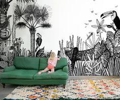 the wild HD doolittle Wall muurschildering
