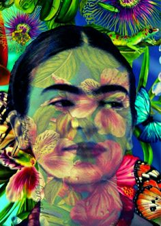 ❀ Flower Maiden Fantasy ❀ beautiful photography of women and flowers - Frida