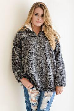 True grit inspired pullover
