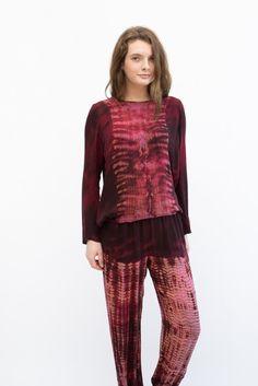 Raquel Allegra Silk Sweatshirt