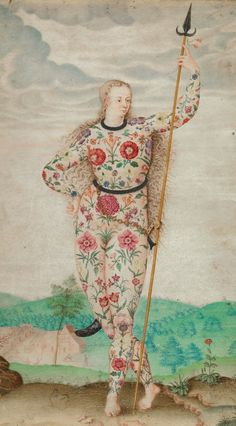 Jacques Le Moyne de Morgues, A Young Daughter of the Picts, Yale Center for British Art, Yale University, New Haven, Connecticut, ca. 1585