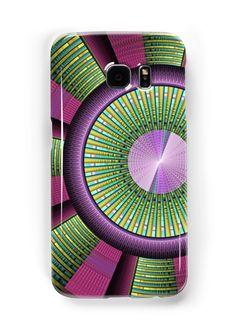 Moderne Fraktalkunst, rund, bunt und grafisch. • Also buy this artwork on phone cases, apparel, home decor und more.