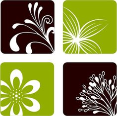 Nature Squares 1 | Wall Decals    $20.00