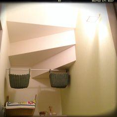 かご収納/つっぱり棒/照明/バス/トイレのインテリア実例 - 2013-10-27 02:27:25 | RoomClip(ルームクリップ)