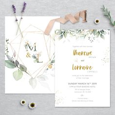 Wedding Invitation Inspiration, Modern Wedding Invitations, Wedding Invitation Templates, Invitation Suite, Wedding Stationery, Watercolor Design, Stationery Design, Printing Services, Colorful Backgrounds