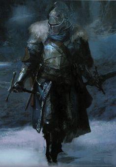 m Fighter Plate Armor Helm Cloak Duel Swords Short Sword Dark Souls & Bloodborne : Photo Dark Fantasy Art, Fantasy Rpg, Medieval Fantasy, Dark Art, Dark Souls 2, Dark Souls Armor, Good Knight, Knight Art, Fantasy Character Design