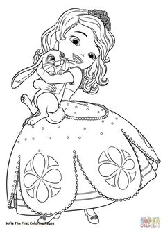 Free Printable Princess sofia Coloring Pages . Free Printable Princess sofia Coloring Pages . sofia and Clover Coloring Page Disney Coloring Pages Printables, Disney Princess Coloring Pages, Disney Princess Colors, Mermaid Coloring Pages, Coloring Pages For Girls, Cute Coloring Pages, Cartoon Coloring Pages, Coloring Pages To Print, Free Printable Coloring Pages