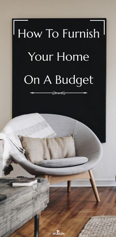 Tips For Furnishing A New Home On A Budget