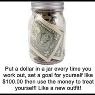 Maybe I should try this to get me back in the gym more often! Get Healthy, Healthy Tips, You Changed, Motivation, Fitness Tips, Mason Jars, Mason Jar, Daily Motivation, Determination