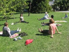 cuerpo-danza-terapia: Estiramientos en red