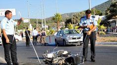 Devriye Haber : Yine Motosiklet Kazası Yine Ölüm Benzin Almaya Gid...