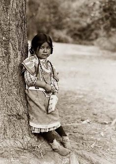 Here we present a rare image of Innocence; it is a Umatilla Indian Girl in a Full-length Portrait. It was taken in 1910 by Edward S. Curtis.    The image presenta a touching view of this young child.    We have created this collection of images primarily to serve as an easy to access educational tool. Contact curator@old-picture.com.