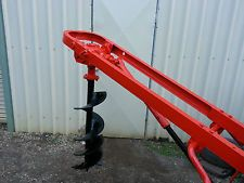 Massey Ferguson Post Hole Digger, Genuine, 3pl, 12 inch Auger, Heavy Duty