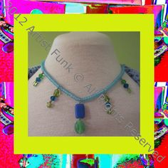 Funky Handmade JewelryColorful Green and Blue by ArtisticFunk, $12.00  USE COUPON CODE PINTEREST10 For 10% Off