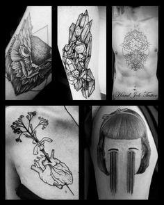 HAND JOB TATTOO aka Gaël Cleinow a le grand honneur de vous faire la peau du 6 au 11 novembre @lephylactere à Paris … Contact handjob.booking@gmail.com /// will post flash soon here :: #Paris #hand_job #tattoo #ink #black #phylactere #gael_cleinow