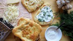 Langoše z trouby – když chcete zdravější a lehčí variantu Food, Essen, Meals, Yemek, Eten