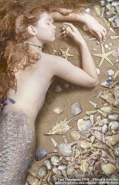 Mermaid by Tim Thompson.