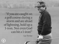 The odds of being hit by lightning in your lifetime are 1 in 300,000 thousand. Golfer Lee Trevino has been struck by lightning 3 times, including once while playing in the 1975 Western Open..!!