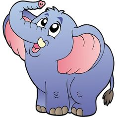 Funny Elephant Pictures and Images Funny Elephant, Elephant Images, Elephant Pictures, Cute Baby Elephant, Cartoon Elephant, Baby Cartoon, Cute Cartoon, Cartoon Clip, Baby Rhino