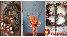 Nezvädnú, nezničia sa a vyzerajú kúzelne: 17 krásnych nápadov na jesennú dekoráciu z obyčajného prútia a kanárikov! Grapevine Wreath, Grape Vines, Wreaths, Fall, Home Decor, Autumn, Decoration Home, Door Wreaths, Fall Season