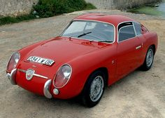 Fiat 750 Abarth-Zagato Coupe. The cast alloy wheels by Campagnolo, are period correct, although perhaps not original to the car.