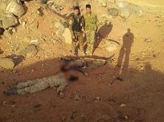 #SAA ambushes #ISIS position in #Homs desert on the outskirts of #Palmyra