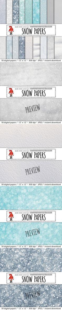Snow background textures