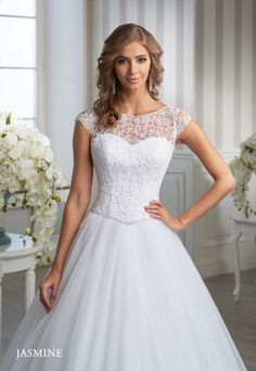 EM 28600 Jasmine, Wedding Dresses, Fashion, Bride Groom Dress, Engagement, Boyfriends, Wedding, Manualidades, Weddings